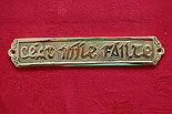 Irish Brass Wall Plaque Cead Mile F�ilte