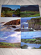 Irish Landscapes Set Of 6 Hardwood Quality Placemats