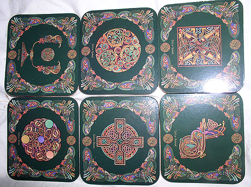 Gift Coaster Set - Jim Fitzpatrick