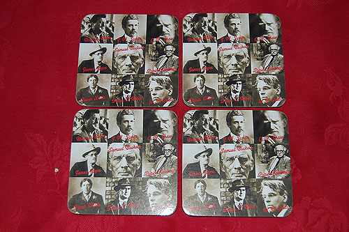 Famous Irish Writers Set Of 4
