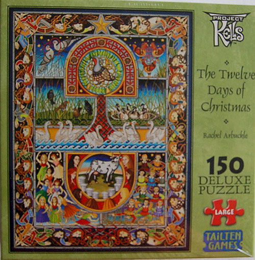 Twelve Days of Christmas 150 Piece Jigsaw Puzzle