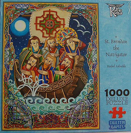 1000 Piece Irish Jigsaw Puzzle St Brendan