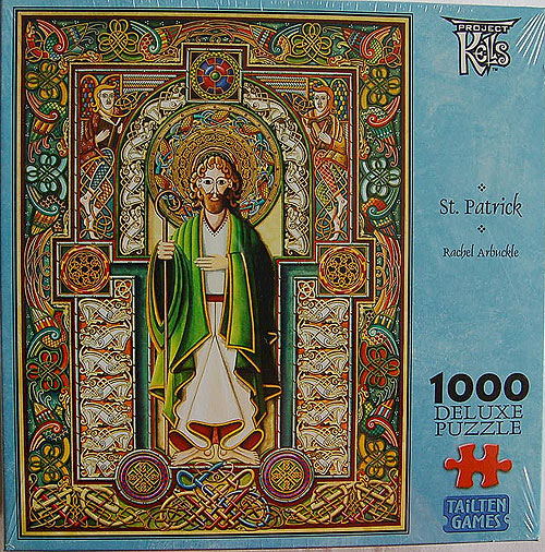 1000 Piece Jigsaw Puzzle of St Patrick -  Celtic