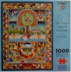 The Twelve Days of Christmas 1000 Piece