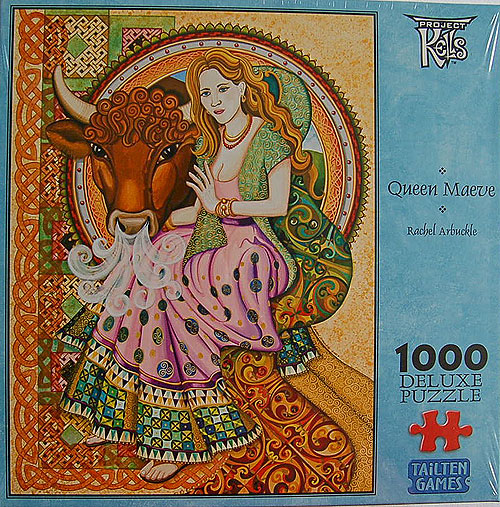 Queen Maeve 1000 Piece Jigsaw Puzzle