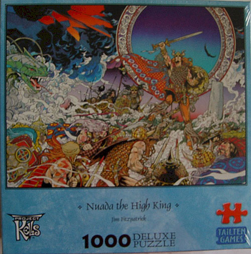 Nuada the High King 1000 Piece Jigsaw Puzzle