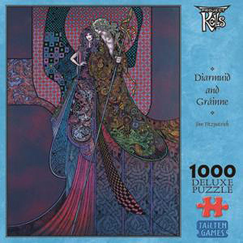 1000 Piece Diarmuid and Gráinne Celtic