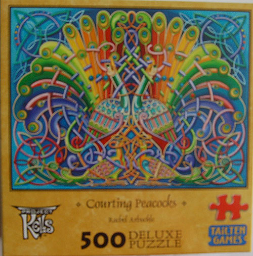 Rachel Arbuckle Courting Peacocks 500 Piece