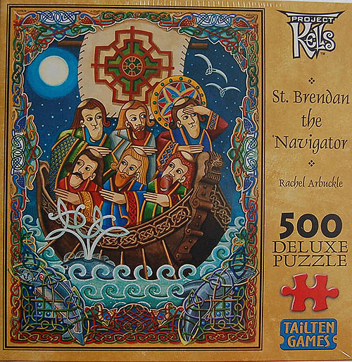 St Brendan The Naviagor 500 Piece Jigsaw