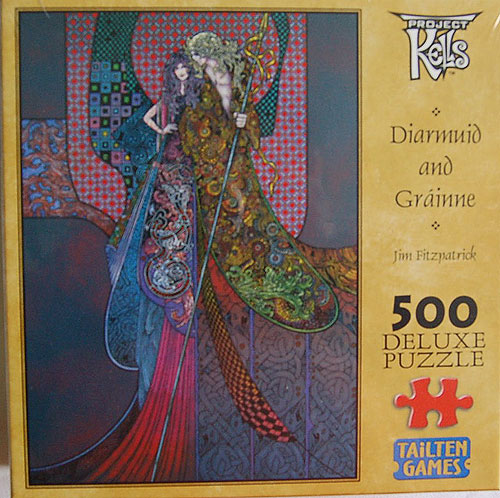 Diarmuid and Gráinne 500 Piece Jigsaw Puzzle