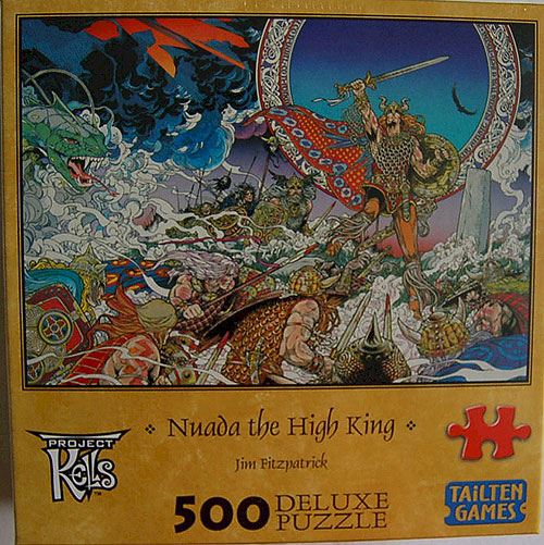 Nuada Celtic King 500 Piece Jigsaw Puzzle (by Jim Fitzpatrick)