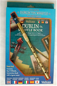 Dublin Tin Whistle & Book Learners Pack
