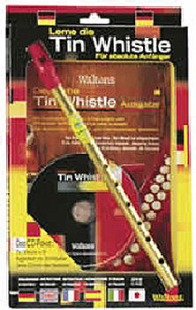 Deutsche Lerne Die Tin Whistle CD