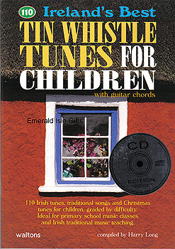 110 Tin Whistle Tunes for Children CD Edit