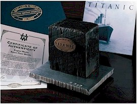 TITANIC Engine Test Room Floor Block