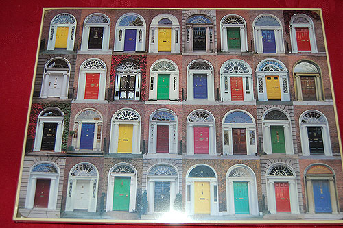 Dublin Georgian Doors Placemats