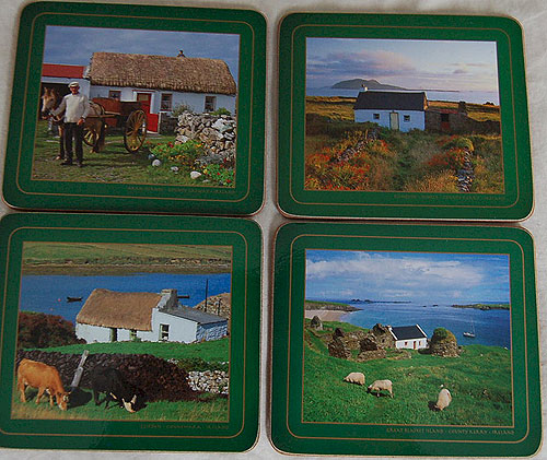 Traditional Irish Cottages Set of