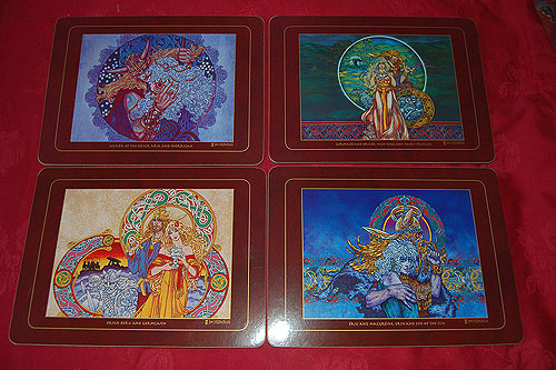 Celtic Lovers Placemats