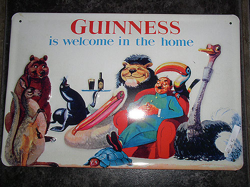 Guinness Metal Advert