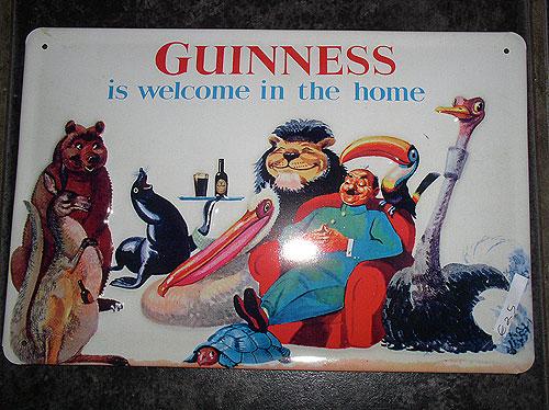 Guinness Metal Advert