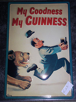 Guinness Metal Advertisement