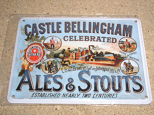 Castle Bellingham Ales Vintage