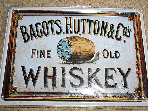 Bagots, Hutton Irish Whiskey