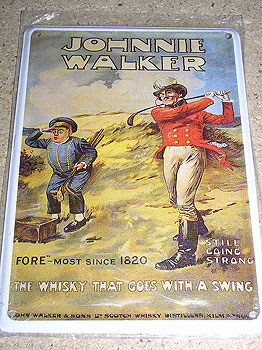 Johnnie Walker Scottish Whiskey