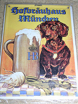 Hofbrauhaus Beer Vintage