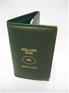 Irish Driving Licence Holder - Genuine Leather