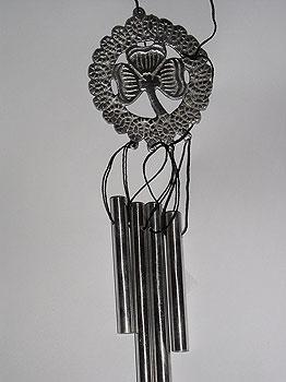 Shamrock Irish Miniature Wind Charm