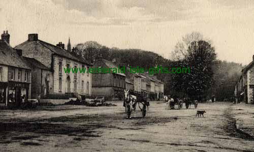 Newtownbarry - Wexford - B/W Street scene