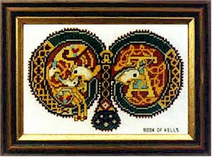 Book of Kells Letters
