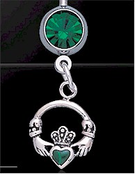 Celtic Silver Body Jewelry