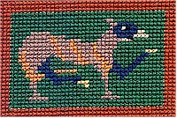 Cross Stitch in Wool