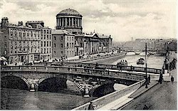 Dublin City Center Vintage Photographs