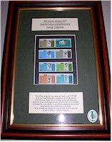 Framed Stamp Sets