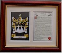 Heraldic Family Crest Mounts