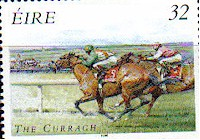 Horse Racing on Stamps
