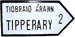 Irish County Road Signs