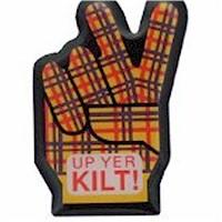 Scottish Pin Lapel Clips