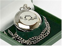 Heraldic Pocket Watches by Mullingar Pewter