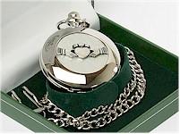 Heraldic Pocket Watches by Mullingar Pewter
