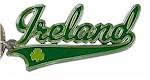 Irish Souvenir Keyrings