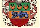 Your Coat of Arms on Antique Parchment Paper