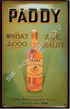 Vintage Style Whiskey Metal Signs