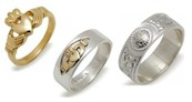 Celtic and Claddagh Rings